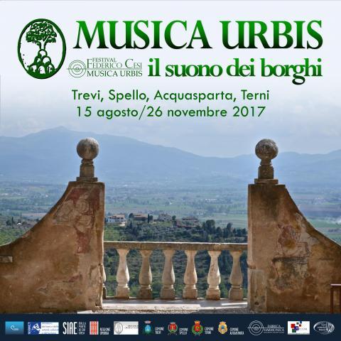 Festival Federico Cesi Musica Urbis 2017