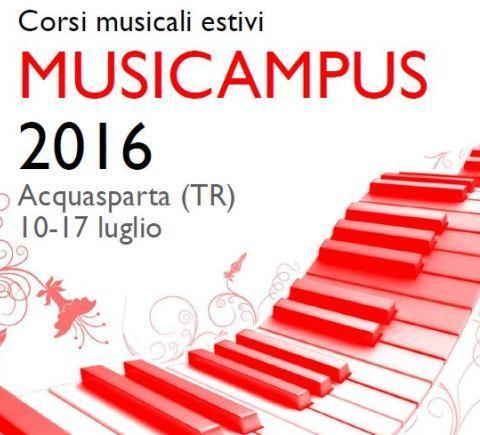 Musicampus 2016 - Acquasparta Terni